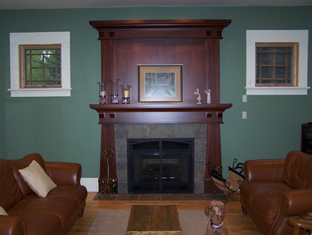 Craftsman Fireplace Mantel Designs Build a Fireplace Mantel Designs