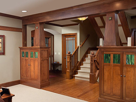 Craftsman Style Home Interiors Single Story Craftsman Style Homes