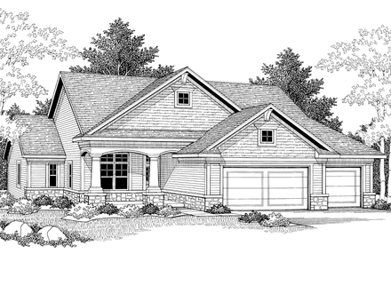 Delia Arts and Crafts Style Home Plan 051D 0343 House Plans and More Easy Arts and Crafts
