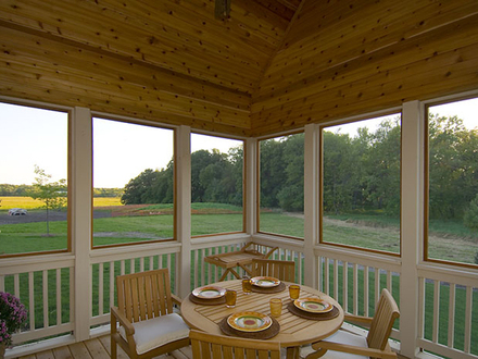 DIY Screened in Porch House Plans with Screened Porches