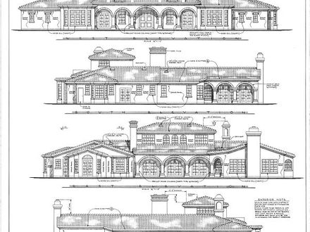 Drawing House Plan Elevations Architecture Drawings Plan Elevation