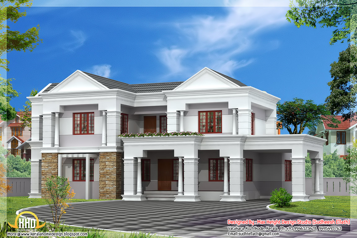 Indian house elevation design simple house elevations for Simple house elevation models