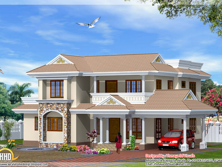 Indian Style House Design Bungalow House Design in Malaysia