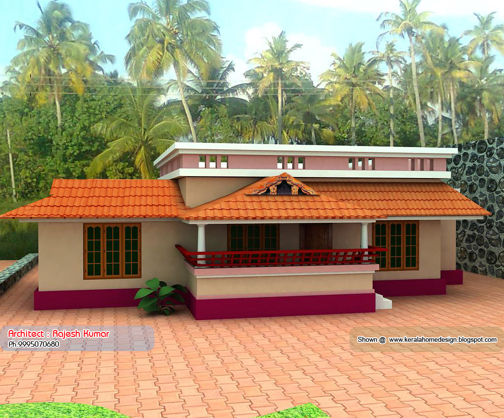 Kerala Small House Plans Under 1000 Sq Ft Small Beach