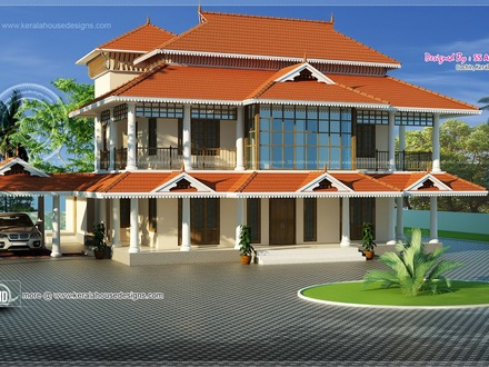 Kerala Traditional Style Homes Modern House in Kerala