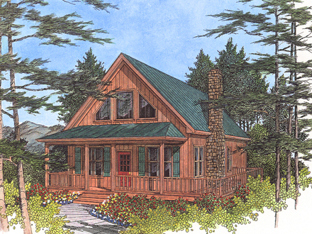 Lake Cabin Cottage Plans Small Cabin House Plans