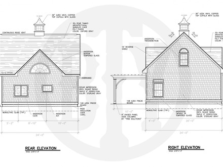 Lake House Plans with Rear View Lake House Plans with Outdoor Kitchens