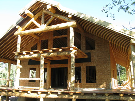 Log Cabin Home Construction Log Cabin Construction Interlocking Details