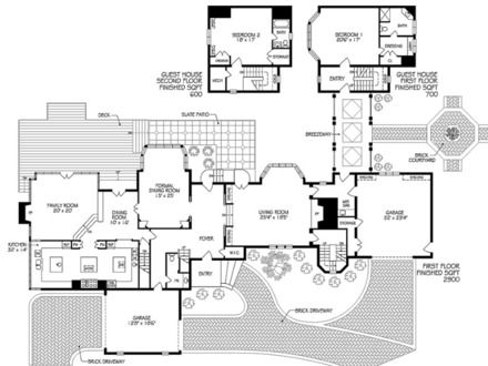 Mega mansion floor plans movie mansions floor plans for 12000 sq ft house plans