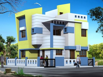 Modern Bungalow Exterior Design Single Story Modern Bungalow Exterior Designs