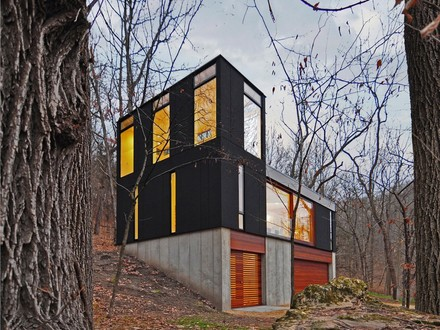 Modern Cabin Architecture Small Modern Cabin in the Woods