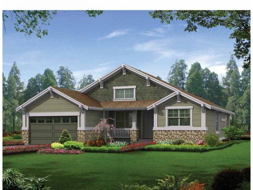 Modern craftsman house plans award winning craftsman house for Award winning ranch house plans