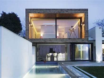 Modern One Story House UK Modern House Designs