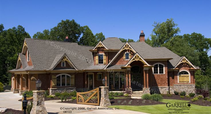 Mountain Craftsman Style House Plans Craftsman Lake House