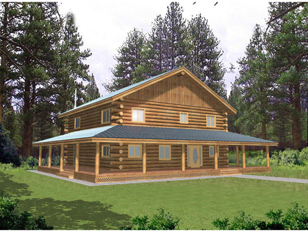 Mountain Log Home Plans WV Log Home Plans