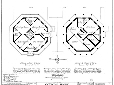 Octagon House Museum Watertown Octagon House Plans