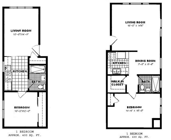 One bedroom apartment floor plan apartments for rent 1 bedroom house plans with basement for One and two bedroom apartments