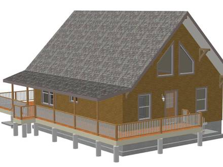 Pre-made Cabins 1000 Square Foot 1000 Square Foot Cabin Plans