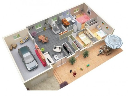 Prefab Garage with Apartment Plans Garage with Apartment Plans 3 Bedroom