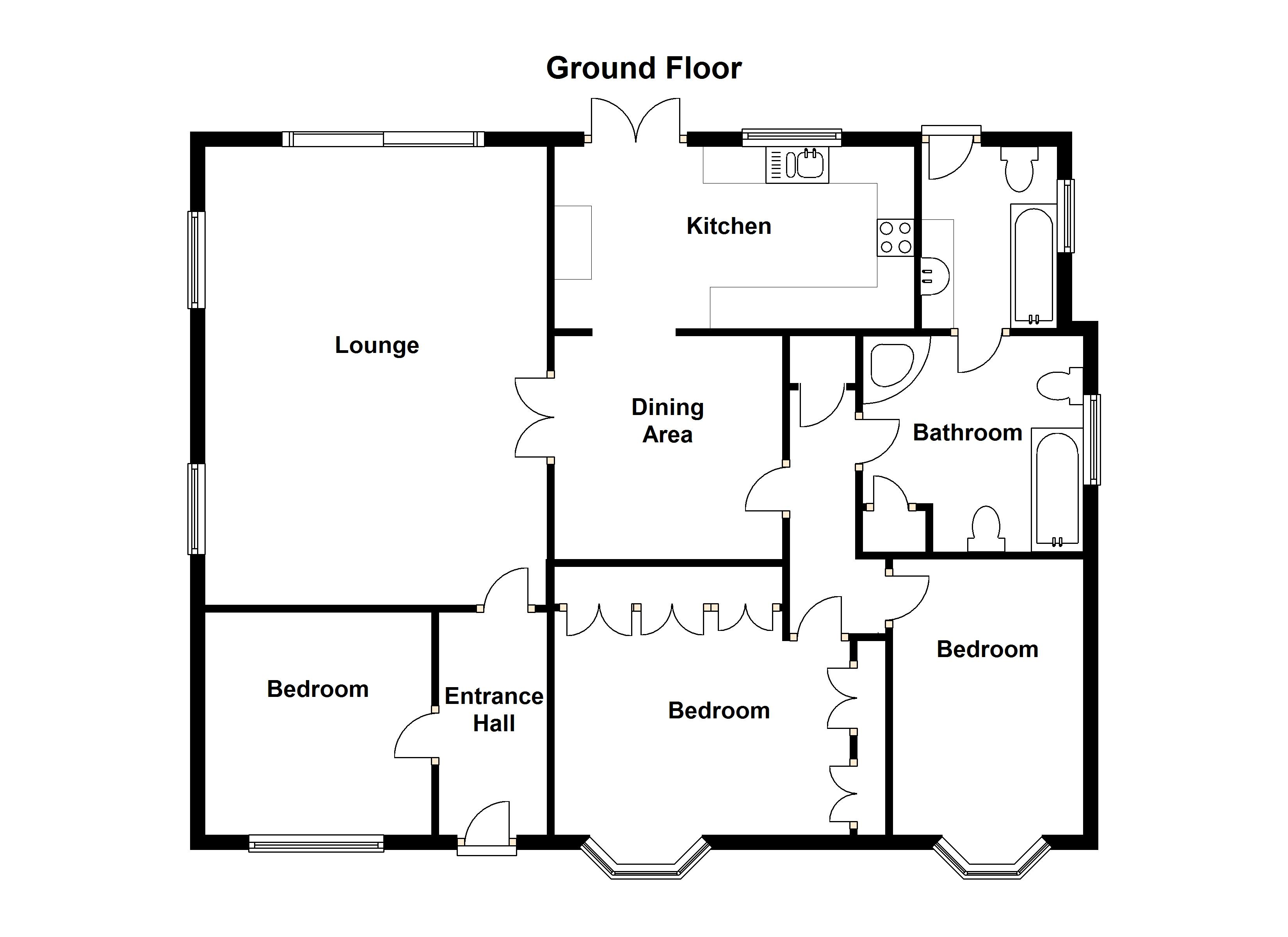 Property get brochure floor plan virtual tour print prime for Floor plan virtual tour