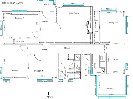 Architect drawing house plans building drawings plans Residential building plan sample