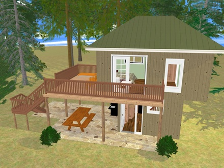 Simple Tree House Plans Tree House Floor Plans 300 Sq FT