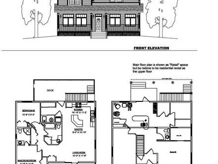 Small 2 Story House Floor Plans 2 Story Tiny House