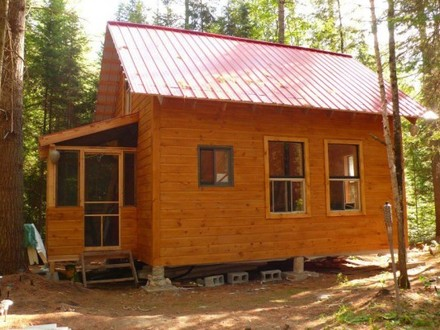 Small Cabin Living Small Cabin Off-Grid Living