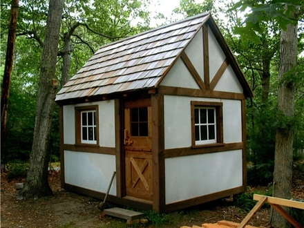 Small Cabin Plans Tiny Timber Frame Cabin