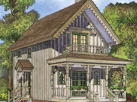Small-Cottage -Guest-House-Plans Small Cottage House Plans