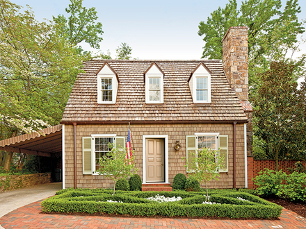 Lakefront cottages turtle lake cottage house plan for Small southern cottage house plans