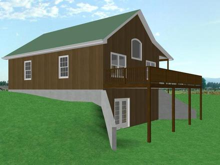 Small House Plans with Walkout Basement Small House Plans with Open Floor Plan