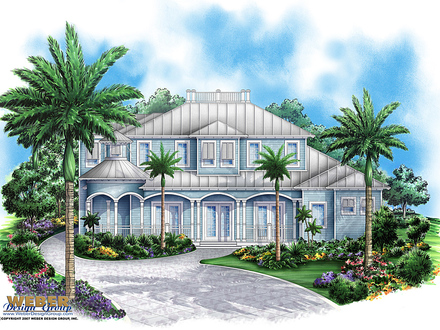 Key west style homes with metal roofs key west style homes for Small key west house plans