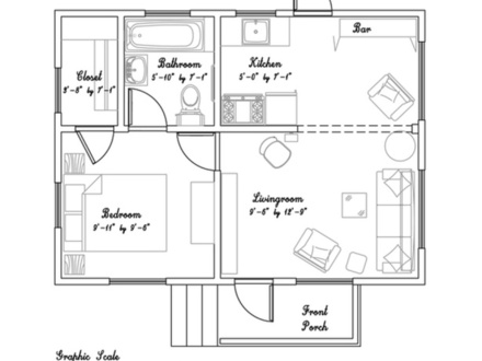 Tiny Houses and Cottages Floor Plans Tiny Victorian Cottage House