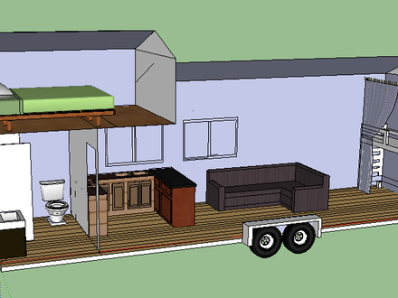 Tiny Romantic Cottage House Plan Tiny House Plans On Trailer