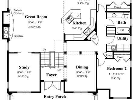Tropical House Floor Plans Tropical Small House Plans