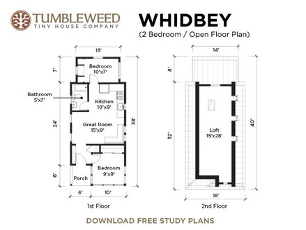 Tumbleweed Tiny House Floor Plans Tumbleweed Tiny House Tour
