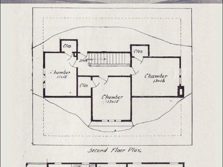 Vintage House Plans Dutch Colonial Vintage House Plan