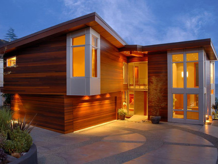 Architecture design house wooden house architecture design for Modern beach house furniture