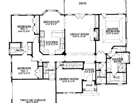 Cottage house plans with wrap around porch cottage house for 1800 sq ft house plans with walkout basement