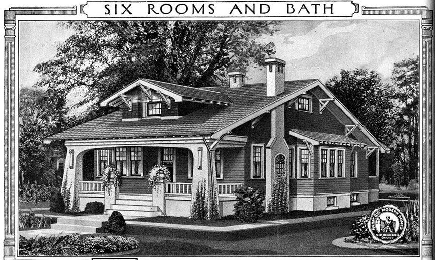 1920s sears kit homes sears craftsman style home plans for Craftsman style homes for sale dallas tx