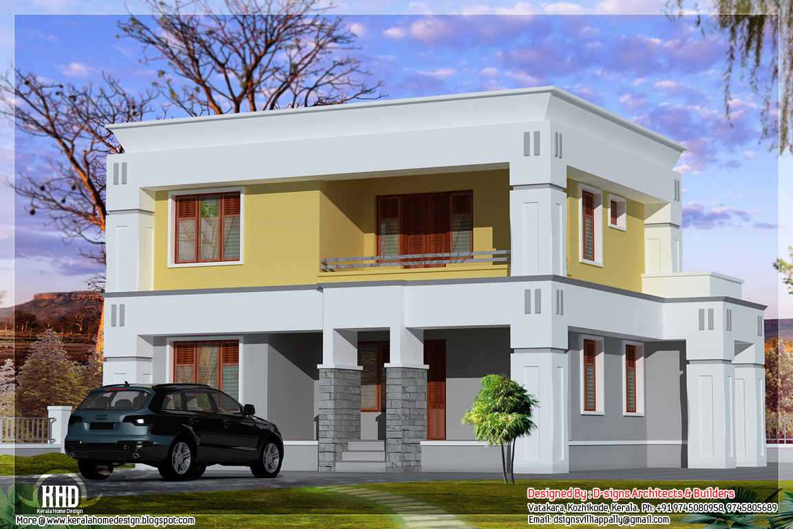 Box type house modern design box type house design small for Modern box house design