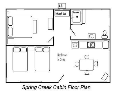 Cabin Floor Plan Small Cabin Plans Floor