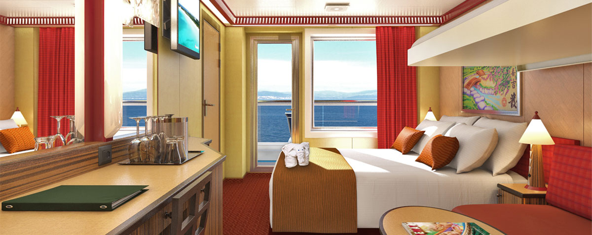 Carnival Cruise Ship Balcony Room Carnival Dream Balcony