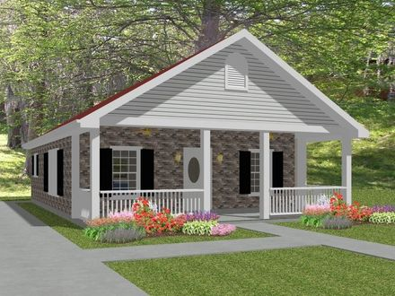 Complete House Plans~~ 836 s/f 2 bed/1 bath~~ Laura Well House Plans