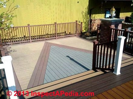 Composite Deck Board Layout Patterns Best Composite Deck Boards