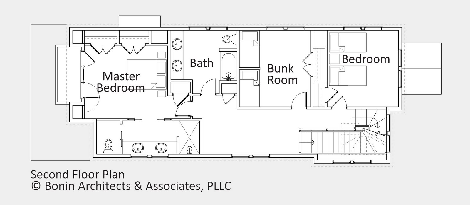 Cottage cabin floor plans guest cottage floor plans for Vacation cabin floor plans