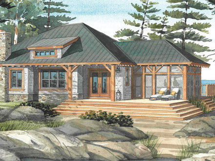 Cottage Home Design Plans Cottage House Plans