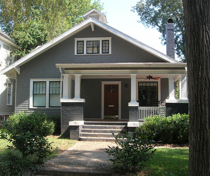 Craftsman Style Bungalow Paint Colors Stairs In A