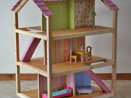 DIY Dollhouse Plans Vintage Dollhouse